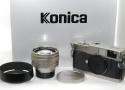 【コレクション向け 未使用】 Konica HEXAR RF Limited 50/1.2付 【限定2001台 元箱付一式】