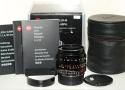 【コレクション向け】 ライカ ズミルックスM 35mm F1.4 ASPH.ブラック 6bit 【純正メタルフード12465、ケース、ギャランティカード、元箱付一式】