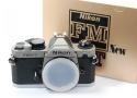 【コレクション向け】 Nikon NEW FM2/T 【元箱付一式/フィルム1本も通していない】