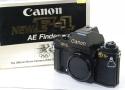 【コレクション向け】 Canon NEW F-1 AE ロス五輪記念モデル 【純正ストラップ、取説、元箱付】