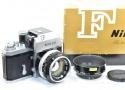 【コレクション向け】 Nikon F フォトミックT 676万台 50/1.4付 【整備済 純正ケース、フード、取説、元箱付一式】