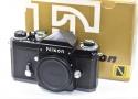 【コレクション向け】 Nikon NEW F アイレベルブラック 741万台 【元箱付一式 フィルム1本も通していない】