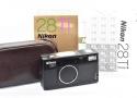 【珍 品】 Nikon 28Ti QUARTZ DATE 【純正セミハードケース、取説、元箱付一式】