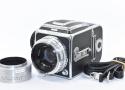 【珍 品】 HASSELBLAD 1000F Tessar 80/2.8付 【Kodak製メタルフード、ストラップ、マガジン付】