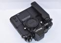 Nikon F3/T ブラック MD-4付 【裏蓋MF-6B プロ仕様滑り止め付】