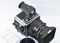 HASSELBLAD 903SWC A12フィルムマガジン、フード、ファインダー付 【整備済 ☆マーク入り正規品】