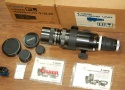 キャノン FL400mm F5.6 取説、元箱付一式 整備済 【フォーカシングユニット付】