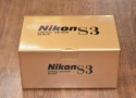 【コレクション向け】 Nikon S3 LIMITED EDITION BLACK 【元箱付一式】