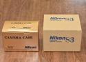 【未使用未開封品】Nikon S3 2000 YEAR LIMITED EDITION【純正本革ケース、元箱付一式 新品購入後1度も開封していない】