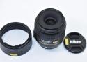 AF-S DX Micro NIKKOR 40mm F2.8G 【純正フードHB-61付】