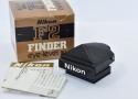 【コレクション向け  希 少】 Nikon F2用アイレベルファインダー DE-1 ブラック【元箱付】