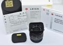 【コレクション向け】 LEICA SUMMICRON-M 35mm F2 ASPH. ブラック 【純正フード12526、ケース、元箱付一式】