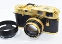 【コレクション向け 珍 品】 LEICA M4-2 Gold SUMMILUX-M 50/1.4付 元箱付一式 【オスカーバルナック生誕100周年記念モデル 1000台限定】